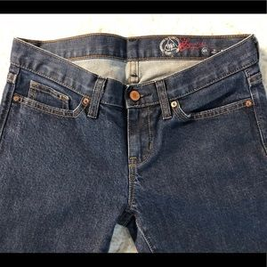 New Ladies GAP Straight Leg Jeans Sz 4